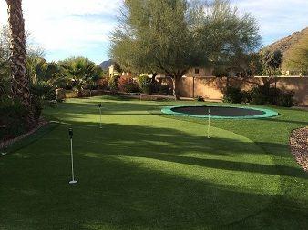 Recreational backyard designs