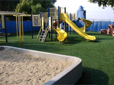 Why Use Artificial Turf On A Play Area?