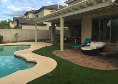 Residential Artificial Turf Pool Areas