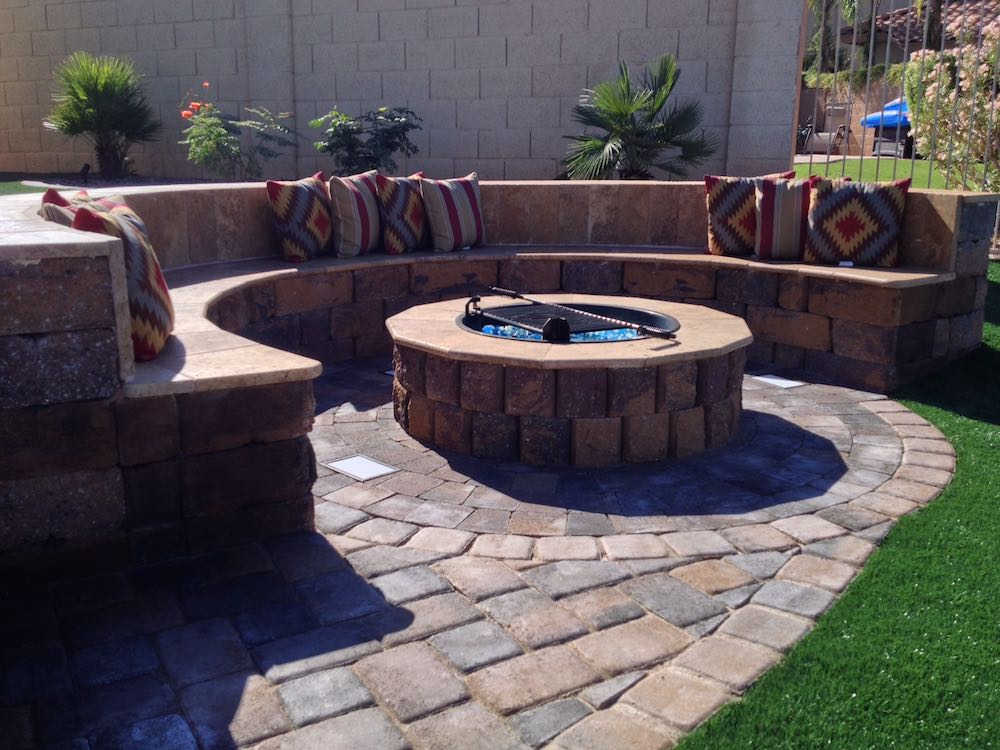 Residential hardscape Landscaping