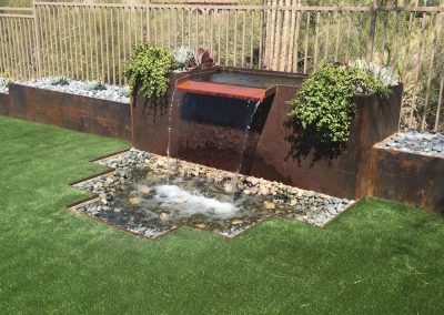 Residential Landscaping Hardscaping (Water Feature)