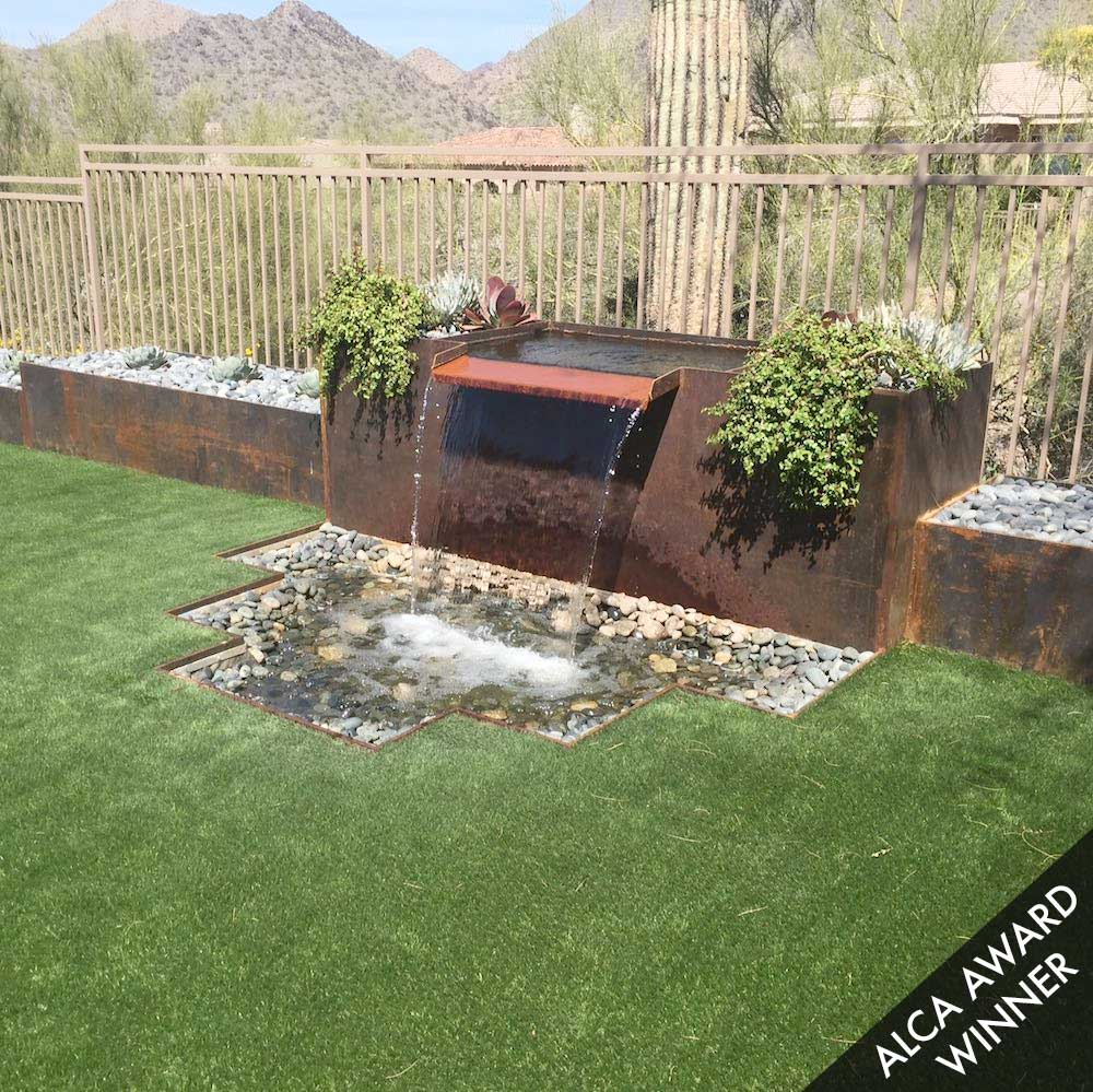 Residential Hardscape Designs | Phoenix AZ | Sunburst ... on Hardscape Backyard id=19093