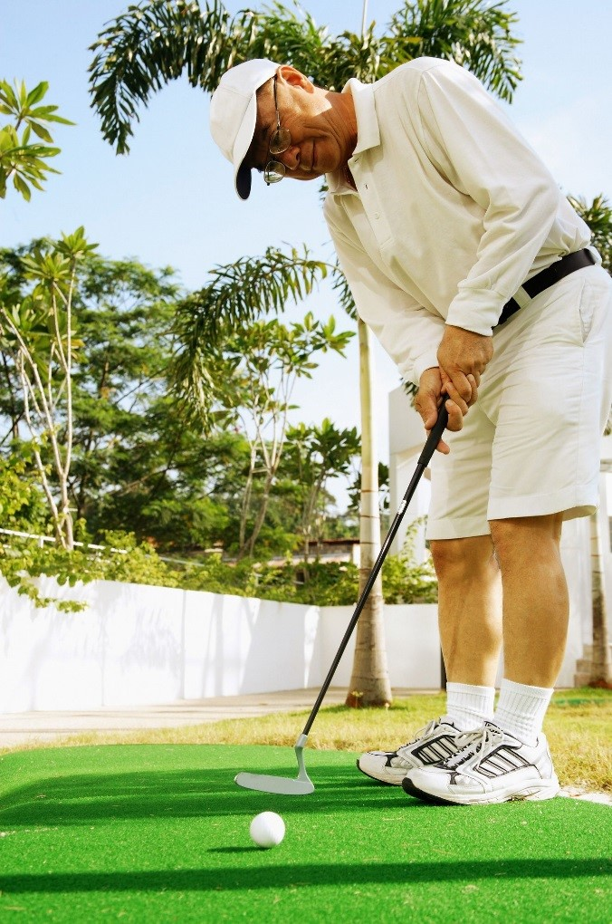A Phoenix Golfer's Training Ideal: Artificial Grass, Real Results